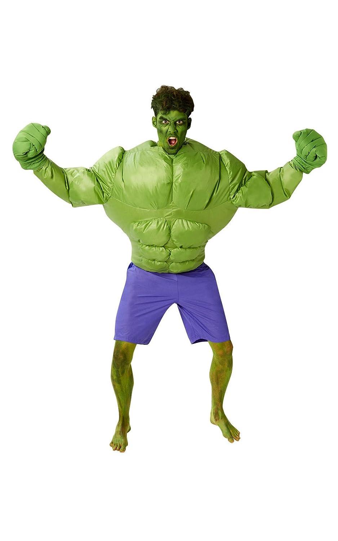 Rubie 's 's Rubie Offizielles Marvel aufblasbares Hulk, Erwachsenen-Kostüm – One Größe d5e38e