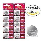 10 Pack CR2016 CR 2016 3V Lithium Battery