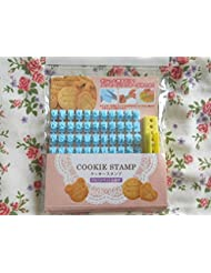 Alphabet, Number, Letter Biscuit Fondant Cake/cookie Stamp Impress Embosser Cutter - Mold Set