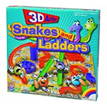 New Entertainment 3D Snakes and Ladders