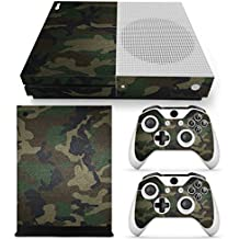 Gam3Gear Vinyl Decal Protective Skin Cover Sticker for Xbox One S Console & Controller (NOT Xbox One Elite / Xbox One / Xbox One X) - Urban Camouflage v2