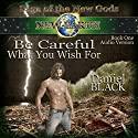 Be Careful What You Wish For: Saga of the New Gods, Book 1 Audiobook by Daniel Black Narrated by Sebastian Fields, Marci Fine