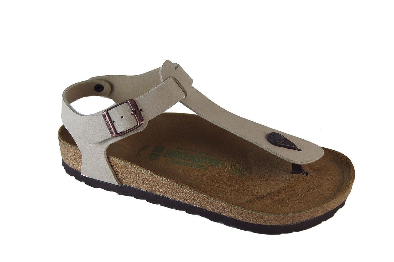 BIRKENSTOCK Damen Kairo Knöchelriemchen Sandalen beige