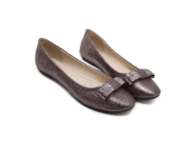 Cyy@Espadrilles/Donna/Scarpe Slip On Flats/Basse Casuali Scarpe/Casuali ScarpeTesta rotonda di grandi dimensioni, confortevole, fondo piatto, marrone, 35brown