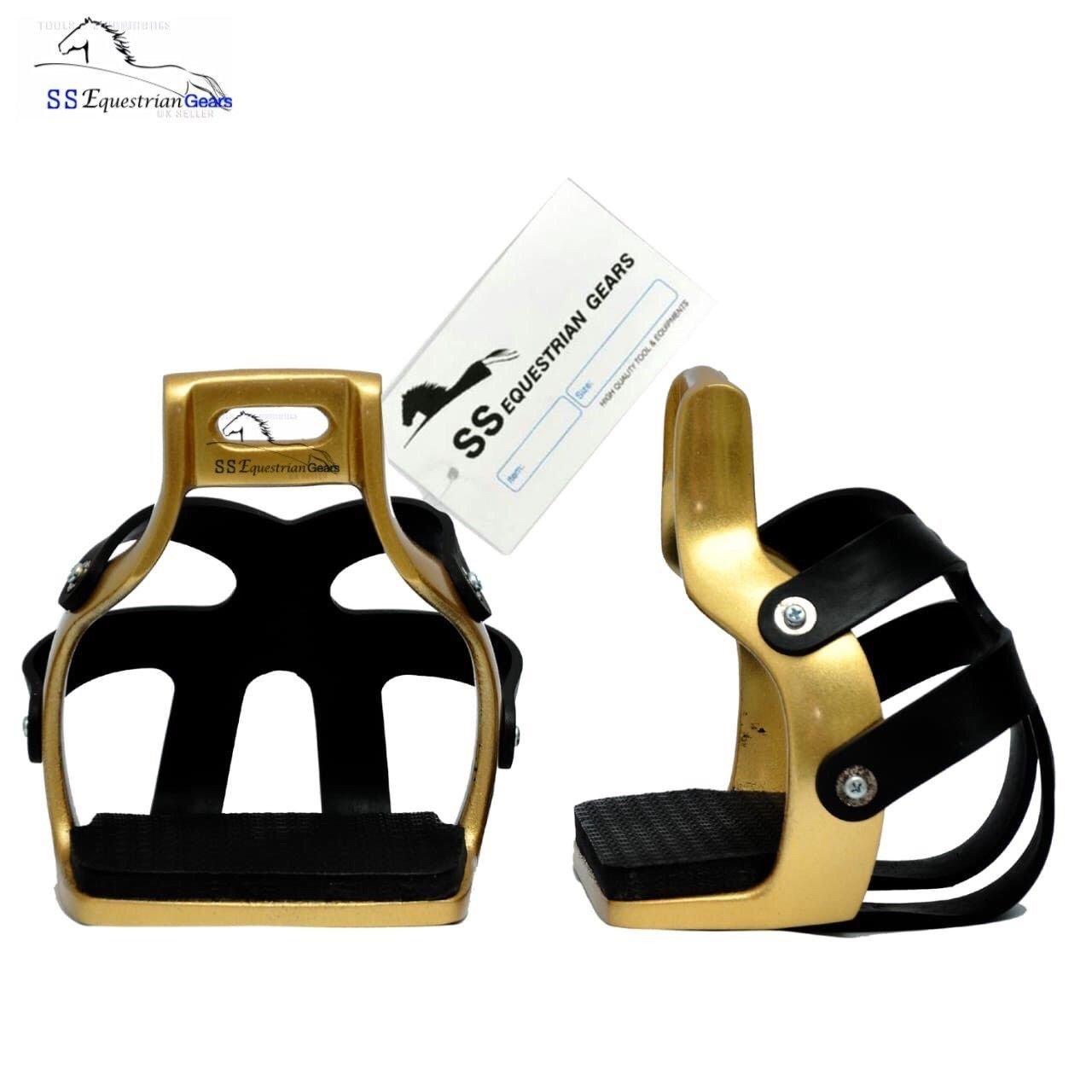 SSEG Aluminium-Endurance Käfig Käfig Käfig für stirrups-equestrian-horse riding-horse Stirrups 4d50e0