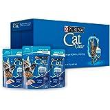 Cat Chow Defense Hydro Adulto, Alimento de Pescado Húmedo para Gato, Pack 24 Pzas de 85g