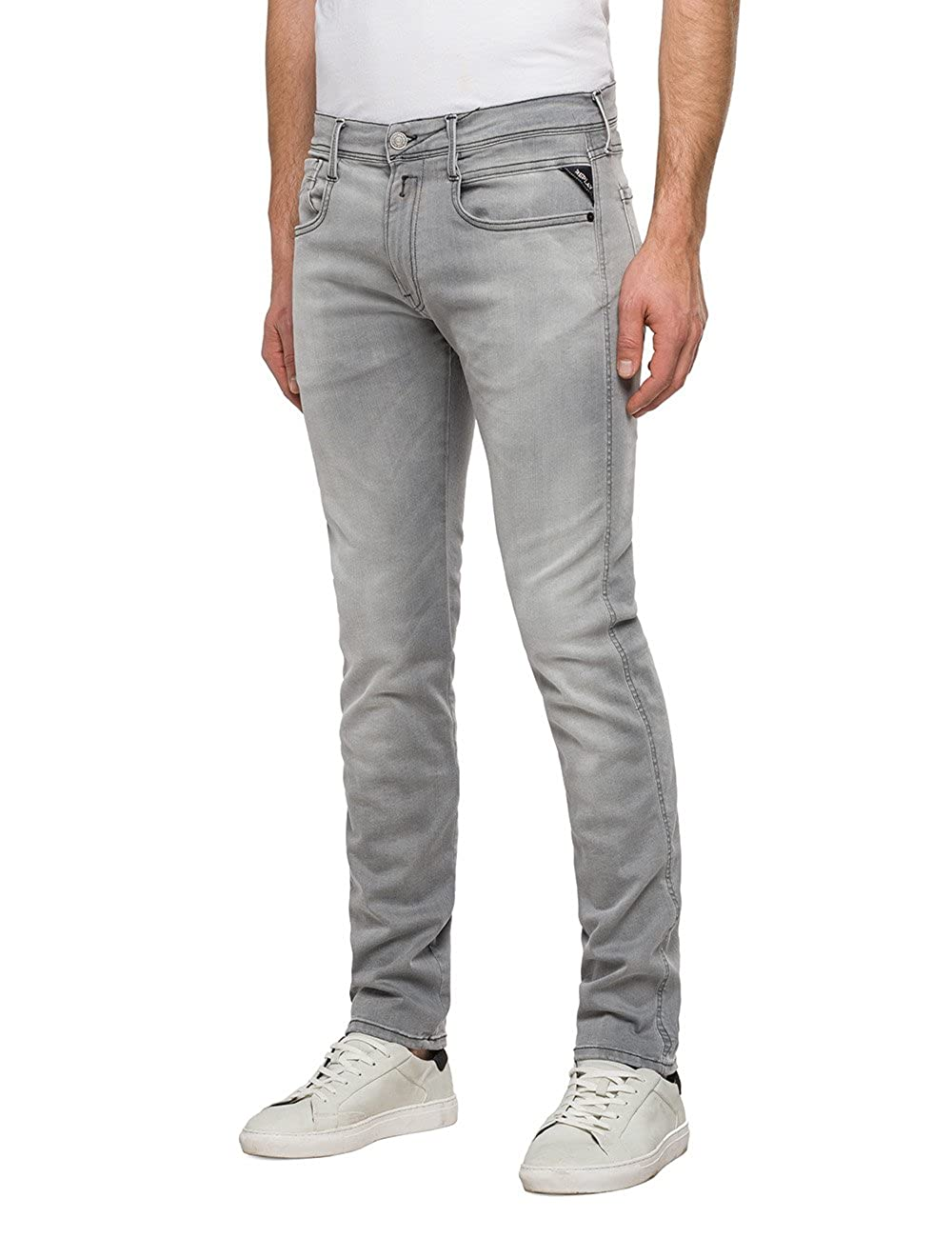 REPLAY Anbass Anbass REPLAY Hyperflex, Jeans Slim Uomo 571cb4