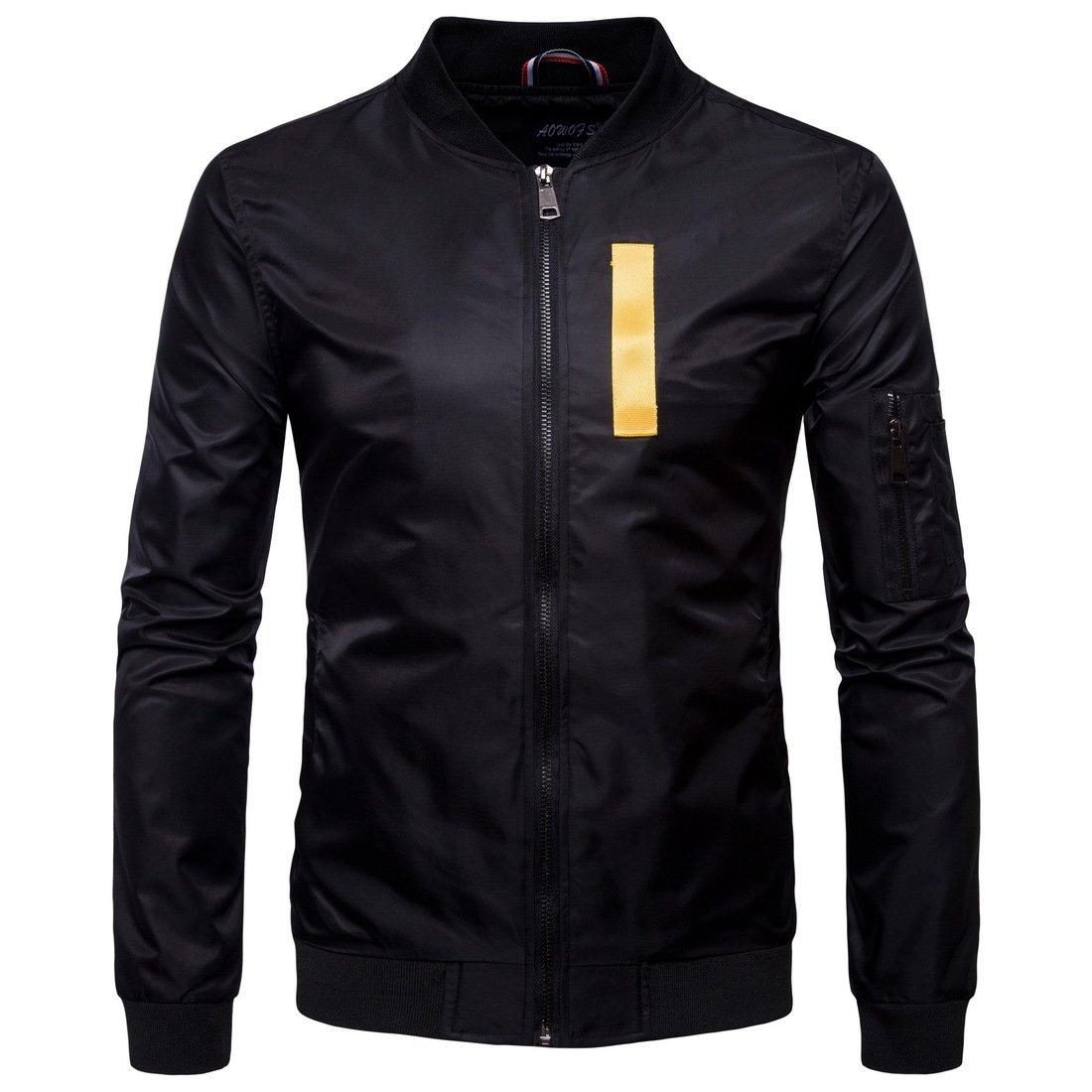 Fjubjv männer - Mode - Kragen Farbe,schwarz,4XL