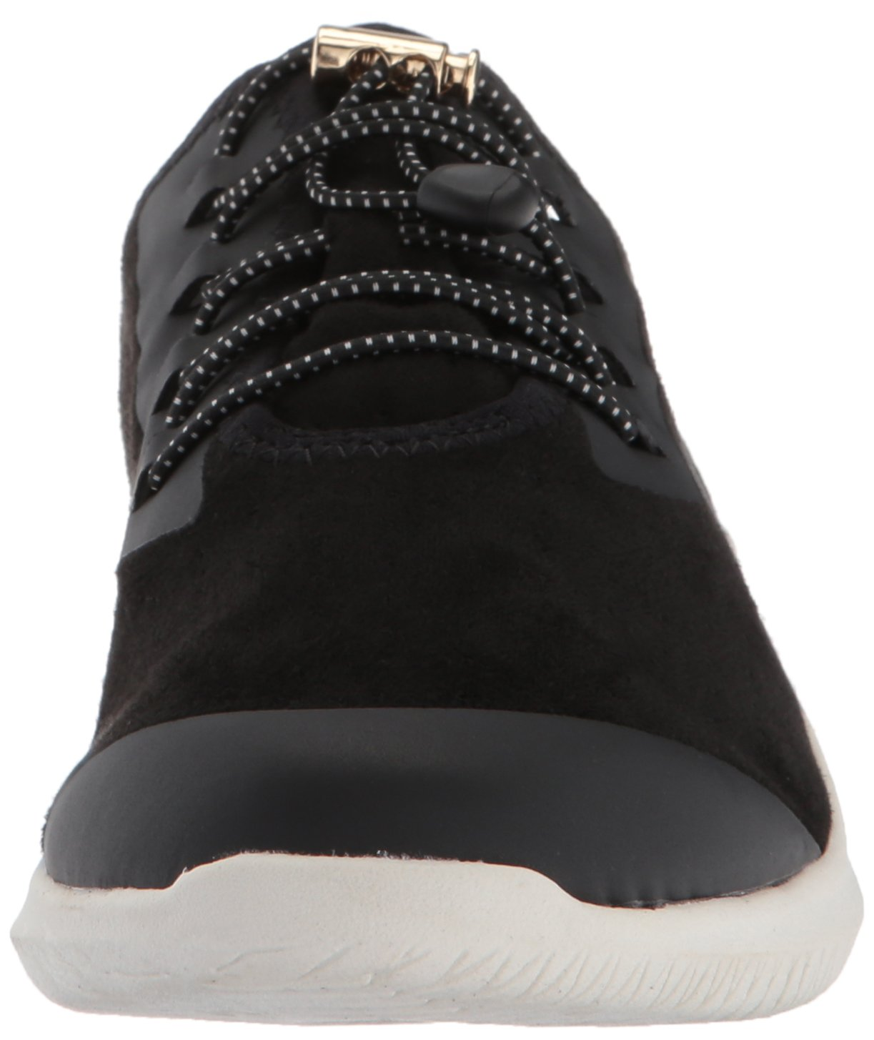 Dr. Scholl's Shoes Women's Flyer Sneaker B074N8F2K3 7 B(M) US Black Microfiber