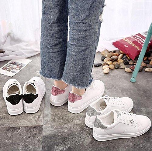 NGRDX&G Damen Turnschuhe Damenschuhe Der Sportschuhe Schuhe Der Beiläufigen Schuhe Sportschuhe Der Schuhe Der Festen Abnutzung Frauen Mit Rutschfesten Schuhgröße 35-40 ef0add
