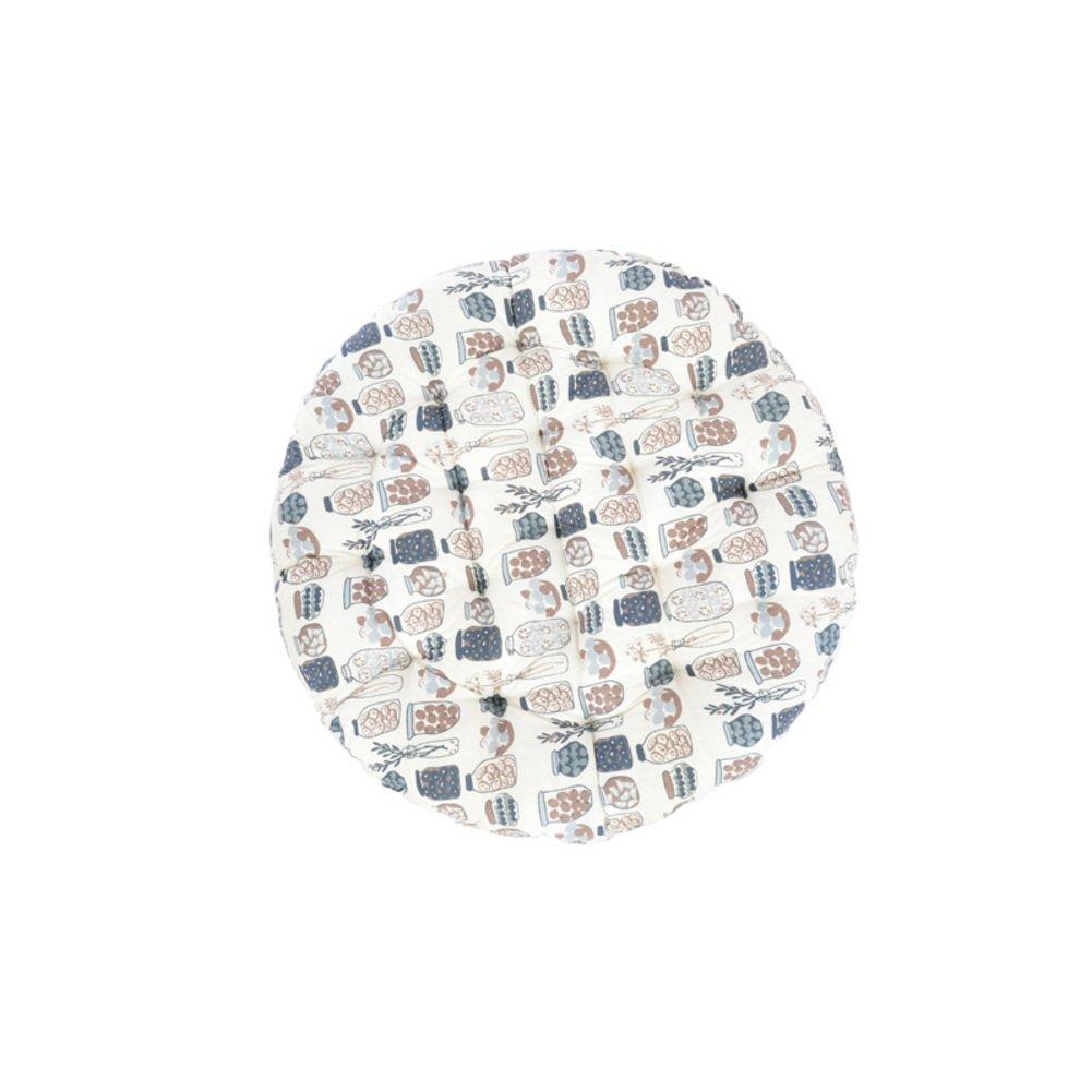 SDJFNFG Redonda,Espesar,Estilo japones,Alfombra de Lino de de algodón futón/cojín de Lino Ventana Flotante de Tatami/cojín de Lino del balcón-A 70X70cm(28x28inch) 69fc45