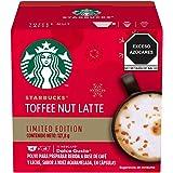 Starbucks® Toffee Nut Latte edición limitada by NESCAFÉ® Dolce Gusto®, tostado medio, 12 cápsulas/6 porciones