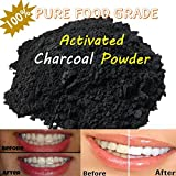 Baking Soda for Blackheads 2 Oz. All Natural. Charcoal Powder from Hardwood Trees. Whitens Teeth, Rejuvenates Skin and Hair, Detoxifies, Helps with Digestion, Treats Poisoning