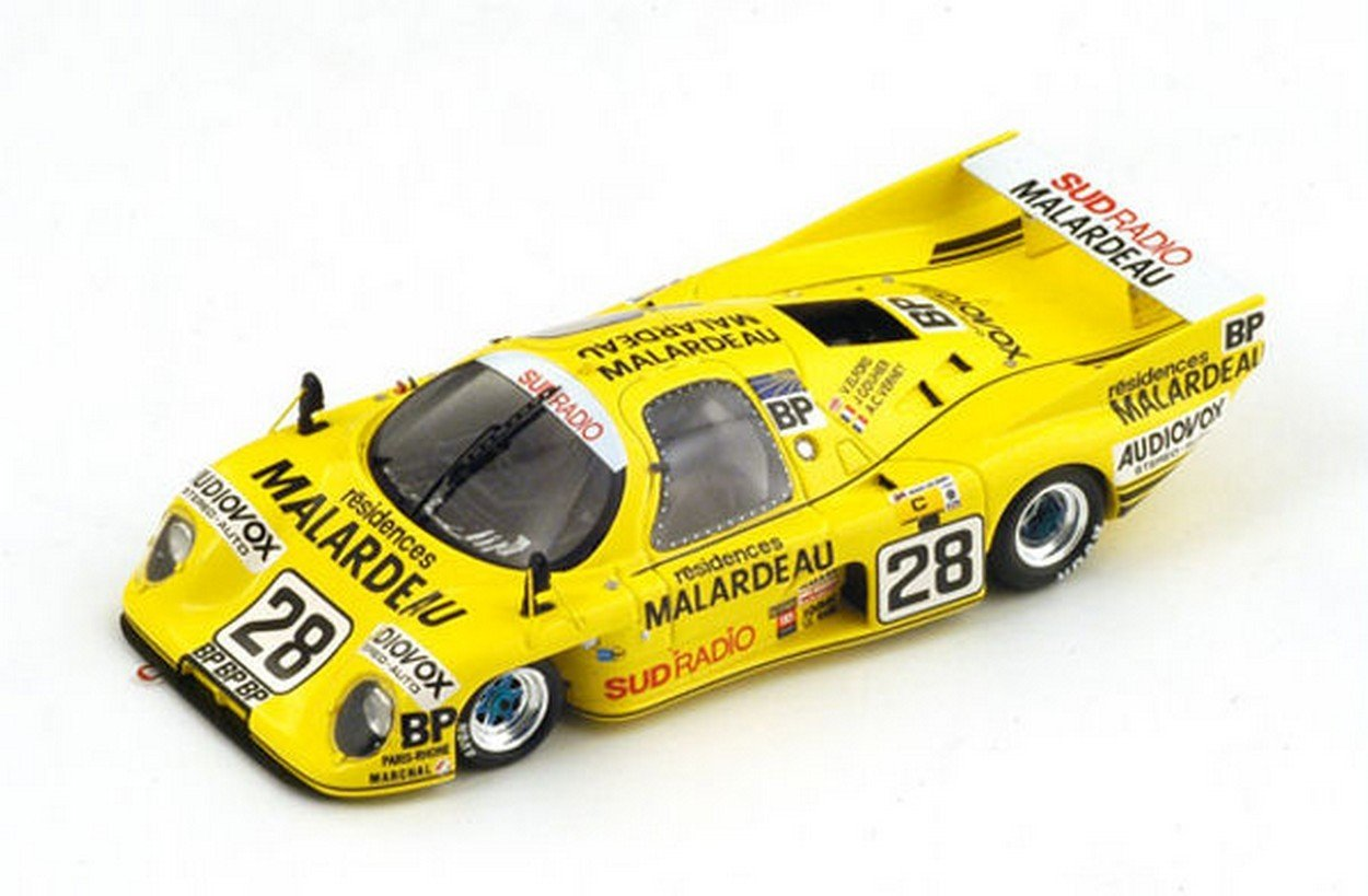 NEWES Spark Model S2269 Rondeau M379 C N.28 33th LM 1983 ELFORD-Verney-GOUHIER 1:43