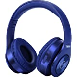 Bluetooth Headphones Wireless,TUINYO Over Ear Stereo Wireless Headset 35H Playtime with deep bass, Soft Memory-Protein Earmuf