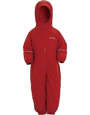 5e21ac858 Regatta Kids Splosh III Waterproof & Breathable Insulated All-In-One  Outdoor Rain Suit
