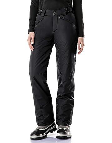 38b96dfa5b TSLA Women s Rip-Stop Snow Pants Windproof Ski Insulated Water-Repel  Bottoms XKB90
