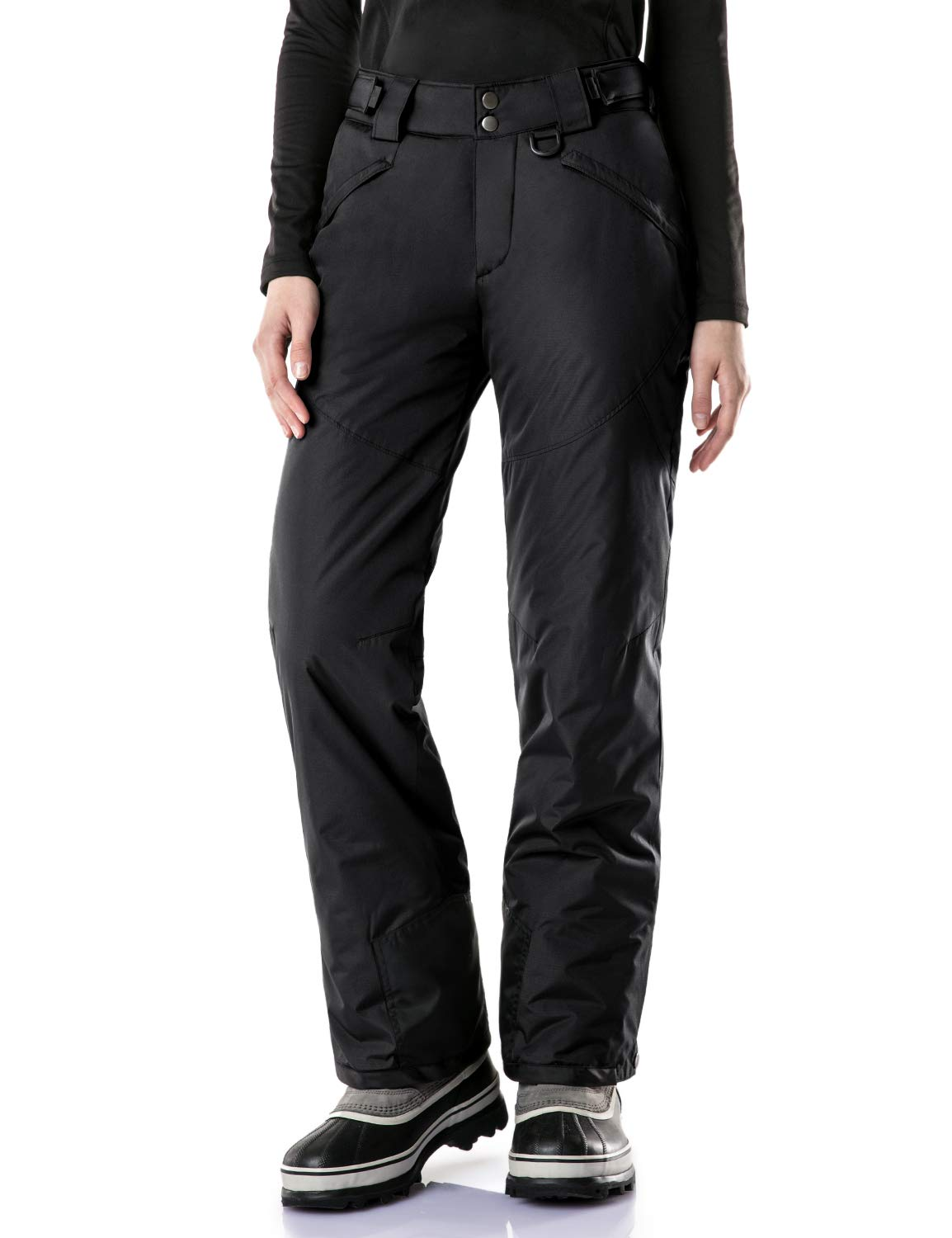 8d61a7c4cb0936 TSLA Women s Rip-Stop Snow Pants Windproof Ski Insulated Water-Repel Bottoms  XKB90 XKB92