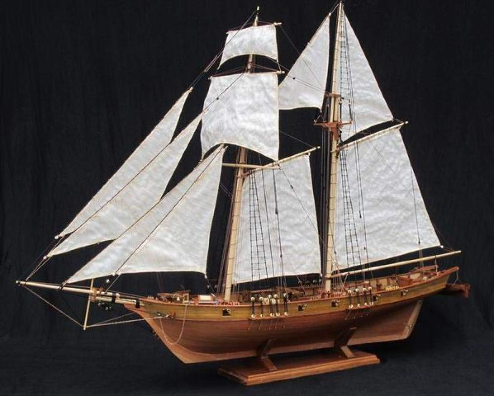 precioso POTOLL Kits Kits Kits De Modelo De Barco Maquetas De Barcos 1 50 Ship Model Kit DIY Modelo De Madera De Vela De Madera Juguetes  alta calidad