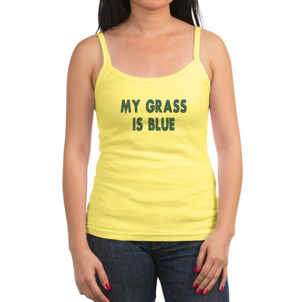 Street Survivors My Grass Is Blue Jr Spaghetti Ta Jr Spaghetti Tank Top Soft Tank With Thi