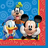 Unique Mickey Mouse Beverage Napkins, 16-Count