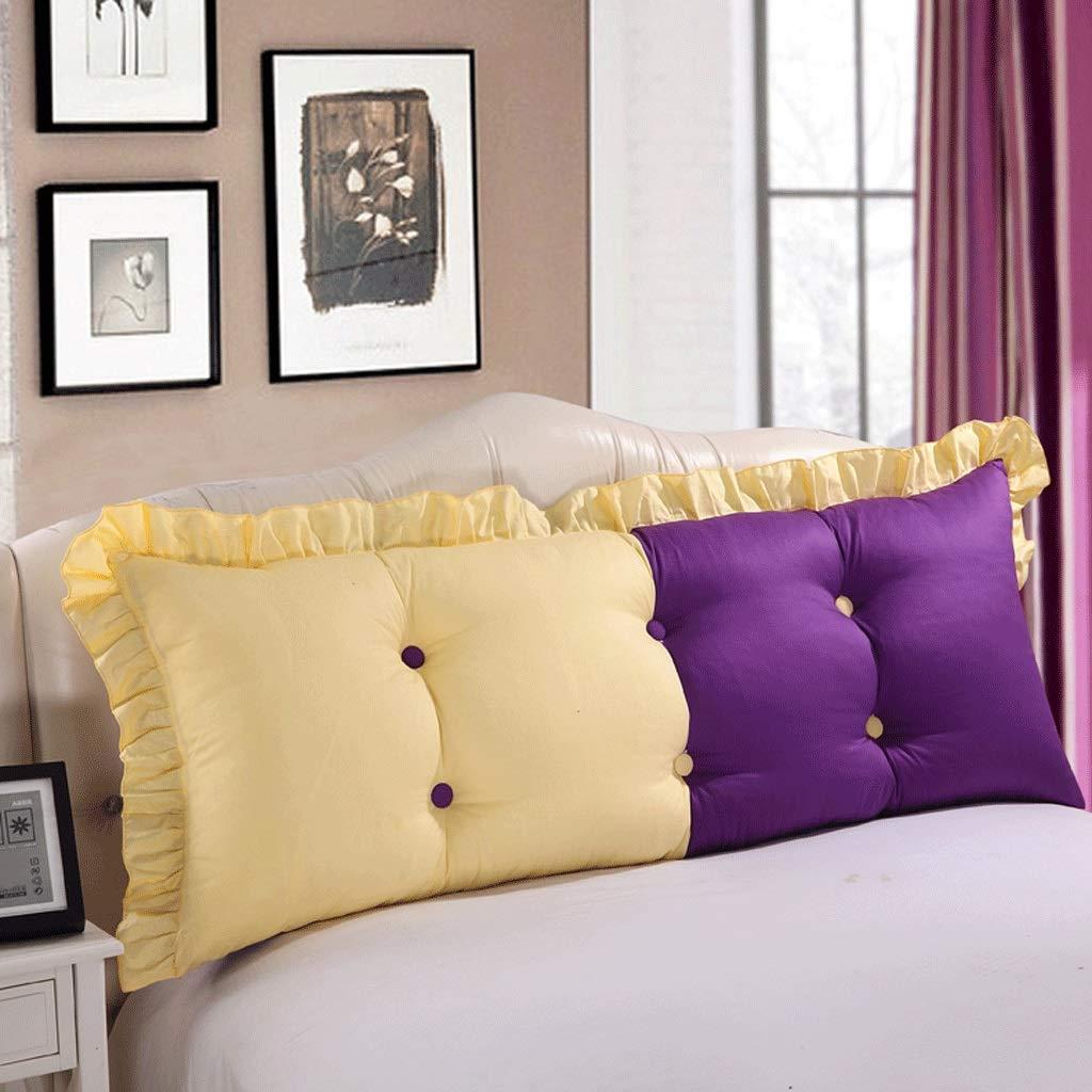 Cushions Kissen Bett Kissen Bett Kopfstütze Bett Rückenlehne Rückenlehne Rückenlehne Weiß Lady Kissen Große Rückenlehne A+ (Farbe   3 , größe   120  55cm) B07GNVCN2K Kopfkissenbezüge 12a320
