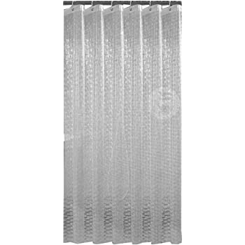 """2 Weights 70/"""" x 72/"""" SlipX Solutions PEVA Shower Curtain Liners with Microban"""