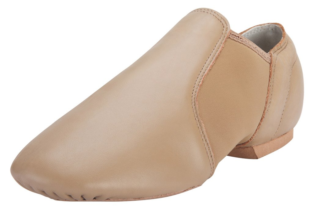 Pegasus galaxy Jazz Shoes for Women/Big Kid Slip On B01238RQOY 5.5M-Heel to Toe 8 3/4 Inches|Brown