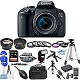 Canon EOS Rebel T7i DSLR Camera with 18-55mm Lens [International Version] (Mega Bundle)