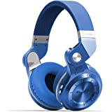 Bluedio T2s Bluetooth Headphones On Ear with Mic, 57mm Driver Rotary Folding Wireless Headset, Wired and Wireless Headphones