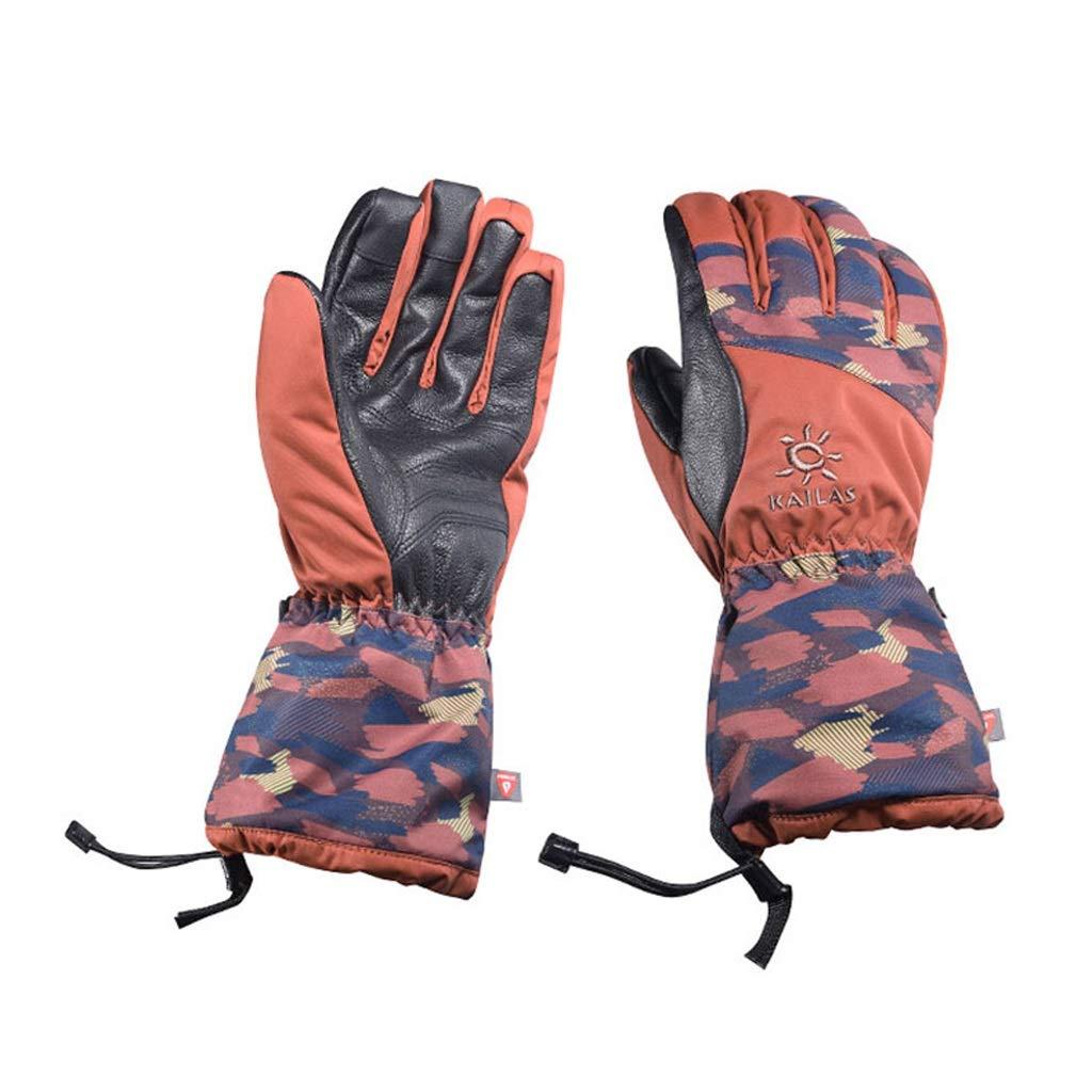 HU Atmungsaktive Handschuhe Outdoor Ski Wandern Bergsteigen Kaltwasserdichte warme Handschuhe