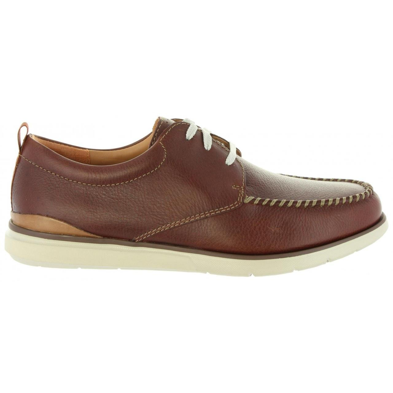 Clarks Edgewood Mix - Mahogany Leather 44.5 EU|Brown