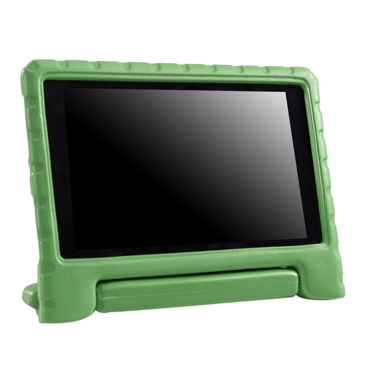 HDE Case for All-New Fire HD 8 Tablet (7th Generation and 8th Generation, 2017 and 2018 Release) Kids Shock Proof Convertible Handle Light Weight Protective Stand Cover (Green)