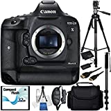 Canon EOS-1D X Mark II DSLR Camera Accessory Bundle – Includes Manufacturer Accessories + 64GB SD Memory Card + High Speed Memory Card Reader + 5PC Cleaning Starter Kit + MORE