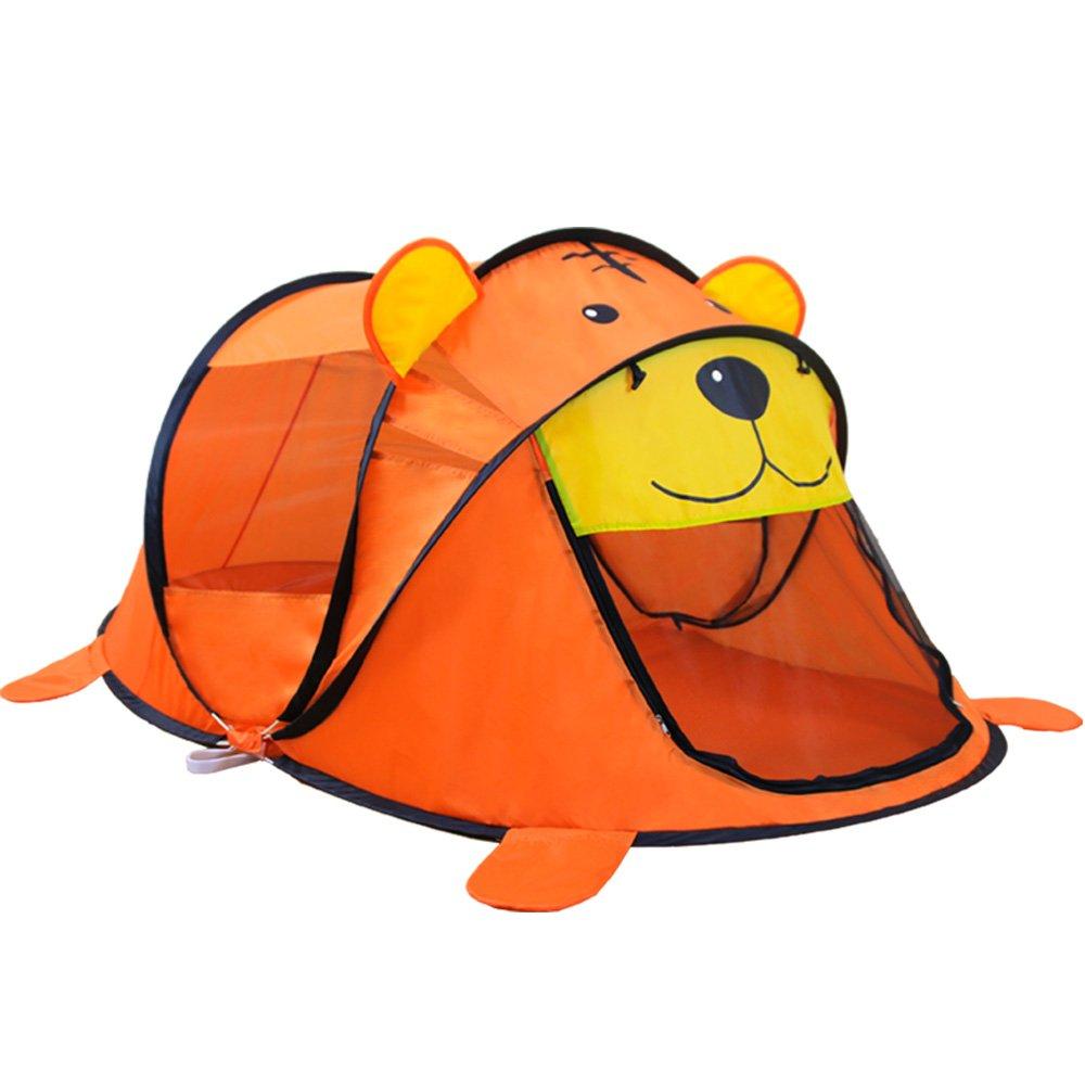 Shuo lan Zelt-Kinderspiel, Karikatur-Tierspielzeug-Zelte Kinderhaus-Kinder für Zelt-Innenaußenspiel-Zelt-faltendes Baby-Zelt