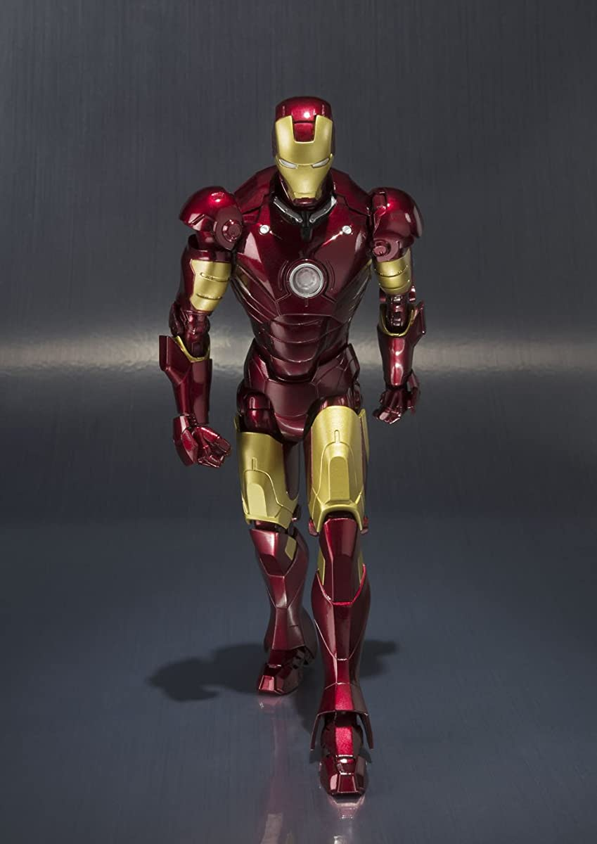Bandai S.H. Figuarts Ironman Mark 3 About 155mm ABS/PVC Action Figure