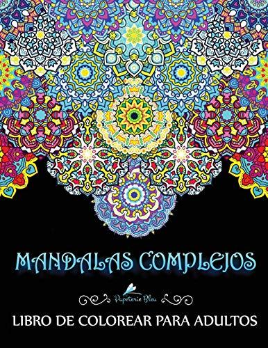Libro : Mandalas Complejos Libro De Colorear Para Adultos  -