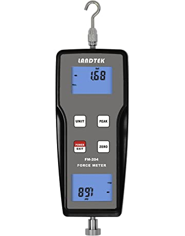 FM-204-100K Digital Force Gauge Push Pull Gauge Tester Meter 3 Measurement Units