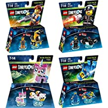 Lego Dimensions The LEGO Movie Bundle Pack - Emmet 71212, Bad Cop 71213, Benny 71214, and UniKitty 71231