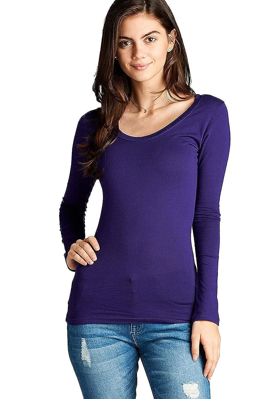 225 arfurt Women's Long Sleeve Button Down Casual Dress Shirt Business Blouse