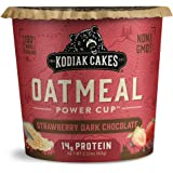 Kodiak Cakes Instant Protein Oatmeal Cup, Strawberry Dark Chocolate, 2.12 Ounce (Pack Of 12)