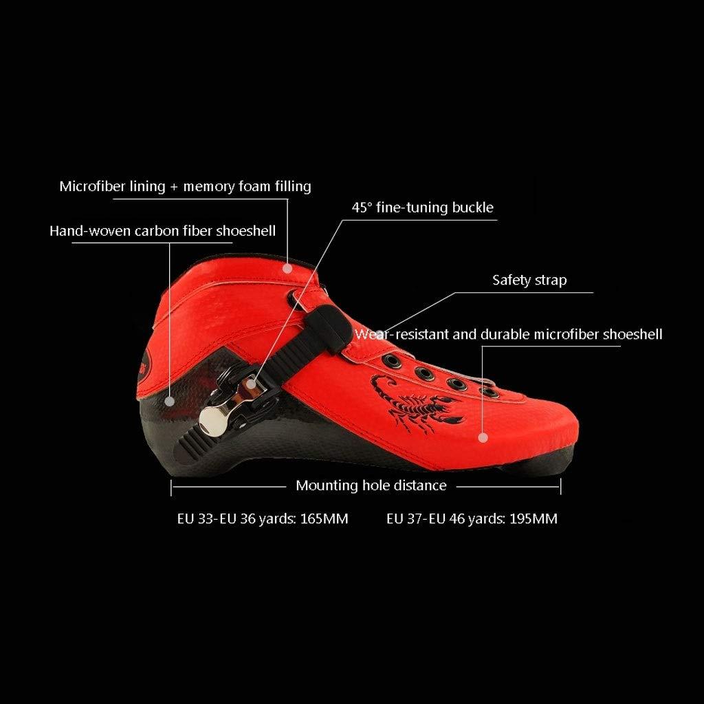 Ailj Inline Skates, Skates, Skates, Erwachsene Kinder Professionelle Hochelastisches PU-Rad 3X125MM Einreihige Schlittschuhe 5 Farben B07QCX2RFC Inline-Skates Qualität zuerst 6b7502