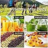Portable Juicer Blender, OKEPOO Beauty Mini Fruit