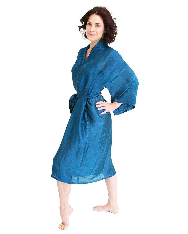 The House of Silk Lange Seide Mix Kimono