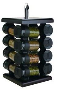 Olde Thompson 16-Jar Revolving Espresso-Color Sp... : Target