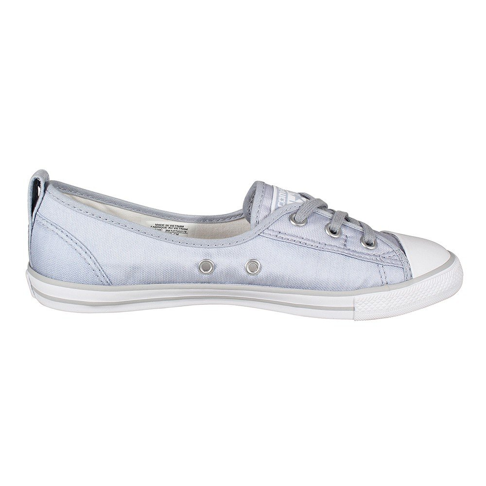 Converse Mandrini Ballerina 551656C grigio Dainty Dainty grigio All Star Ballet Lace mouse Bianco Nero - 3ec137