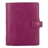 Filofax C025342-2017 Pocket Size Organizer, Finsbury Raspberry, Paper Size, 4-3/4-Inch by 3-1/4-Inch