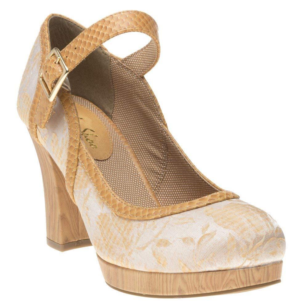 Ruby Shoo Cassandra Damen Schuhe Nude