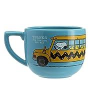 Hallmark 6MJB3189 Peanuts Back to School Mug, large, Blue