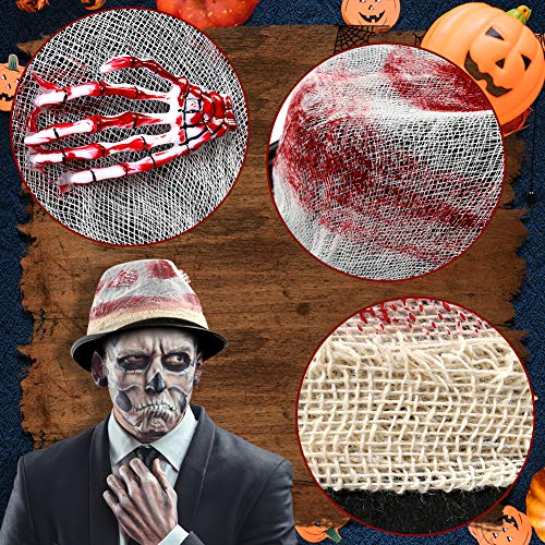 DomeStar Voodoo Hat, Halloween Hat Witch Doctor Hat Skeleton Hand Top Hat Cosplay Hat Funny Party Hat Black Top Hat for Halloween Party Decorations